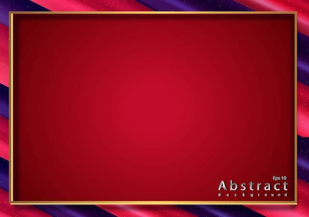 Papierschnitt abstrakte farbe lutscher mit textur 3d
