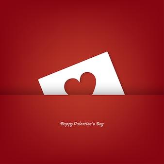 Papierschnitt valentines