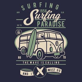 Paradies surfen