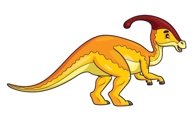 Parasaurolophus-karikatur