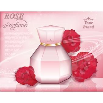 Parfüm hintergrund-design