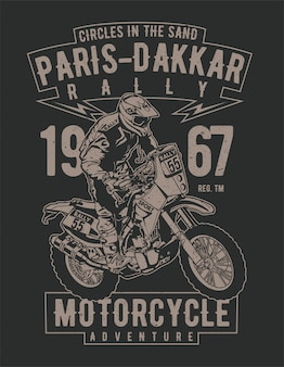 Paris dakkar rallye motorrad