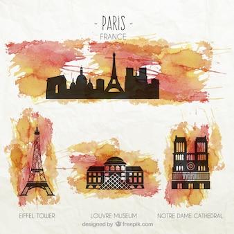 Paris denkmäler