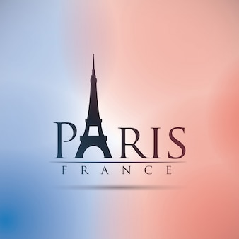 Paris-design, vektor-illustration.
