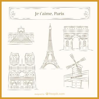Paris skizzen