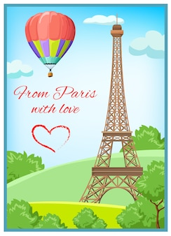 Pariser postkarte