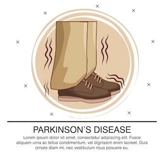 Parkinsons-krankheit infographic