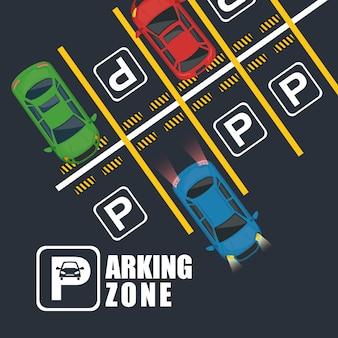 Parkzone air view szene
