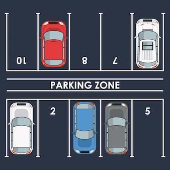 Parkzone draufsicht