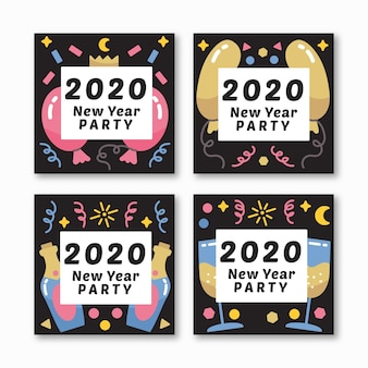 Partei instagram beitragssatz des neuen jahres 2020