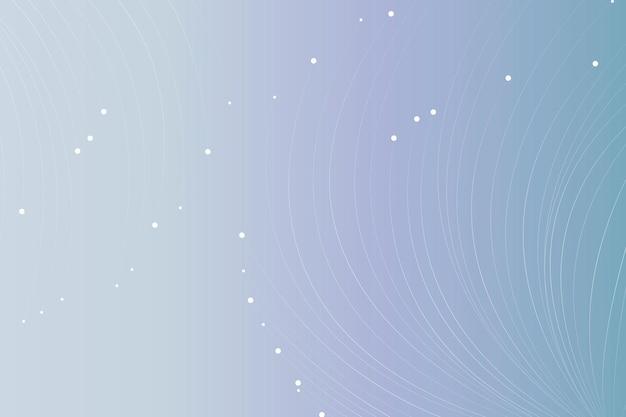 Partikellinien futuristischer hintergrund mit farbverlauf