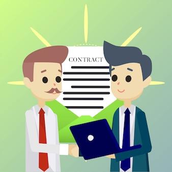 Partner deal abbildung