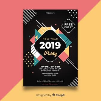 Party des neuen jahres 2019