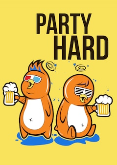 Party hart