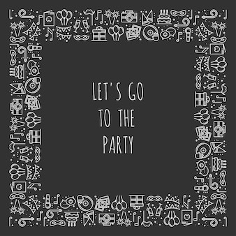 Party-rahmen