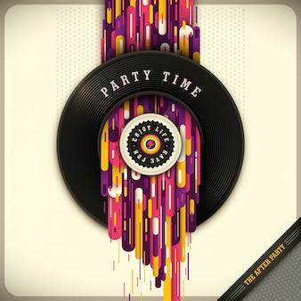 Party-zeit-illustration
