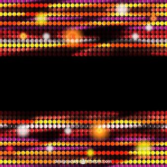 Partybeleuchtung vektor hintergrund