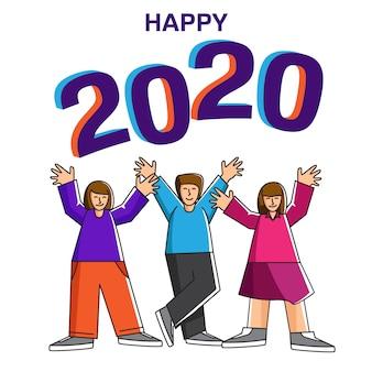 Partyevents für das neue jahr 2020