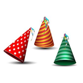 Partyhut geburtstagselement zum feiern von geburtstagen
