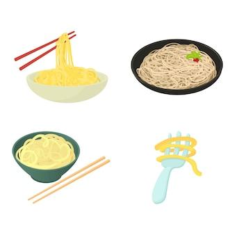 Pasta-icon-set