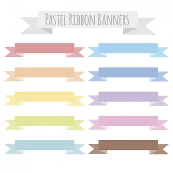 Pastell band banner