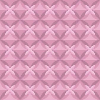 Pastell blasse farbe zarte blumenfliese. nahtloses muster der vintage-retro-geometrie. illustration eines wiederholbaren motivs