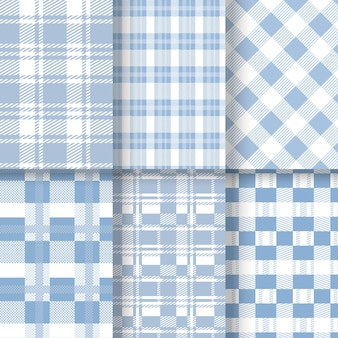 Pastell gingham muster pack