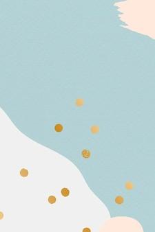 Pastell memphis musterhintergrund Kostenlosen Vektoren