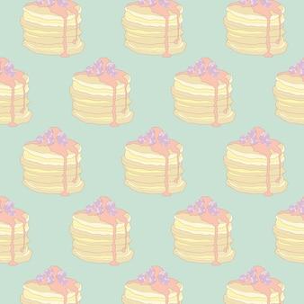 Pastell pfannkuchen