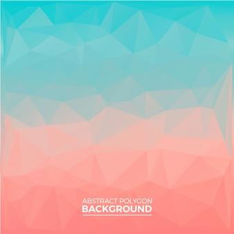 Pastell polygon hintergrund