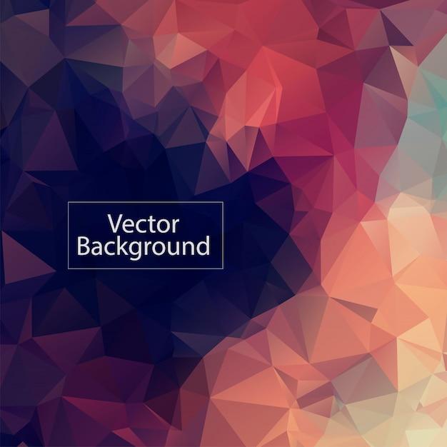 Pastell polygonalen mosaik hintergrund