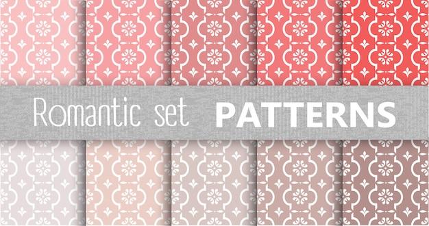 Pastell retro-vektor-muster
