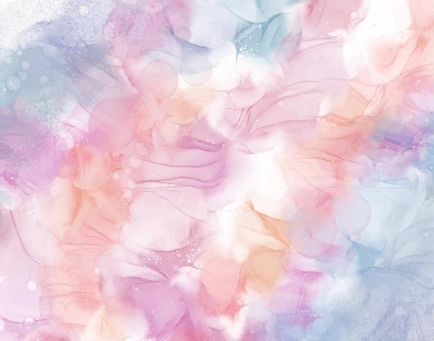 Pastellalkohol-tinte abstrakter hintergrund