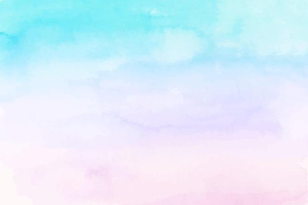 Pastellaquarell gemalter hintergrund