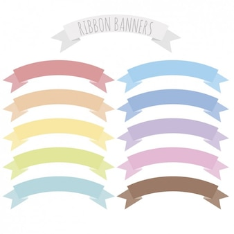 Pastellfarbbänder pack