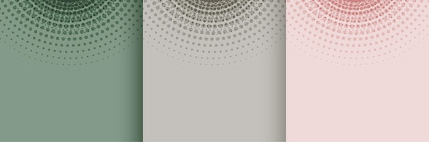 Pastellfarbenes weiches halbton-hintergrunddesign