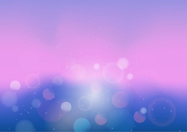 Pastellfarbzusammenfassungshintergrund mit bokeh