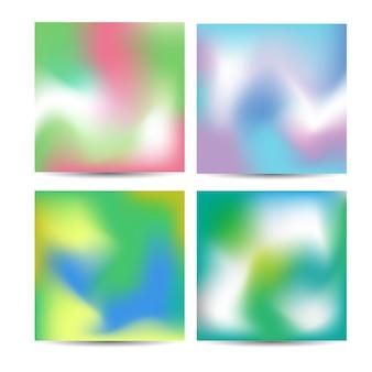 Pastellfrühlingsvektor-maschensteigungen