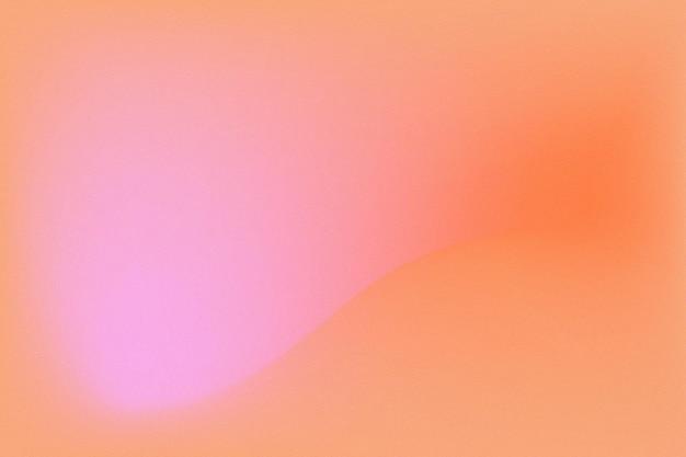 Pastellgradientenunschärfe orange rosa hintergrund