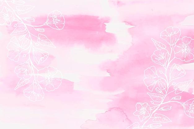 Pastellhand gezeichneter hintergrund