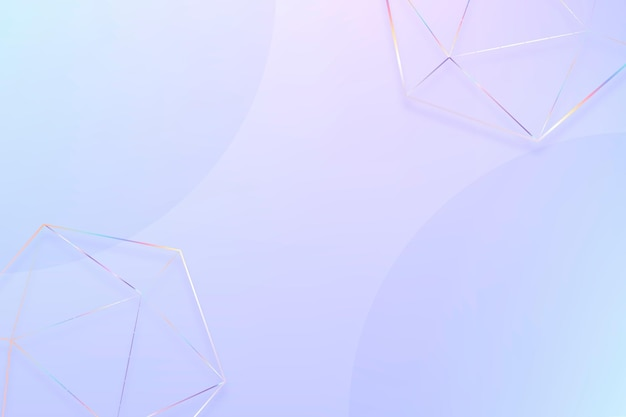 Pastellhintergrund mit geometrischen formen