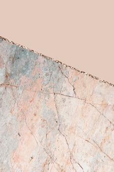 Pastellorange marmorierter hintergrund