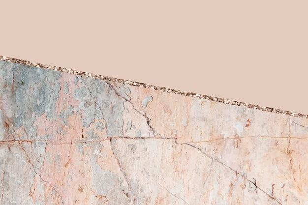 Pastellorange marmorierter hintergrundvektor