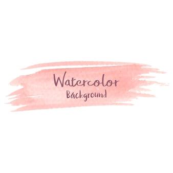 Pastellpfirsich-aquarellhintergrund