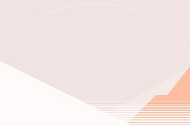 Pastellrosa berghintergrund