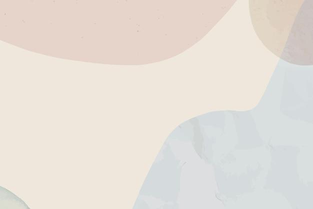 Pastellvektor stumpfer pastell abstrakter strukturierter hintergrund