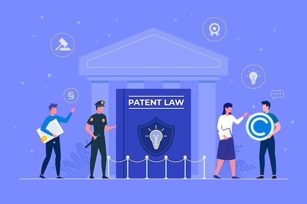 Patentrechtliches konzept