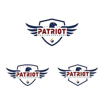 Patriot abzeichen logo