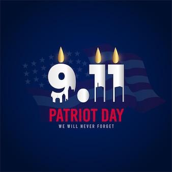 Patriotentag am 11. september in den usa