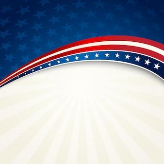 Patriotischer hintergrund des unabhängigkeitstags